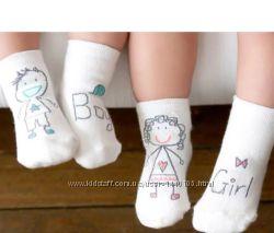 Крутые детские носки носочки асимметрия с тормозками 2-4 года