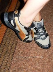 Женские серые с черным кроссовки Puma, оригинал, 38-39р