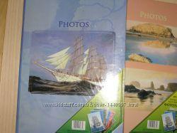 Нові фотоальбоми UFO в твердій обкладенці, 10 на 15. На 300 фотографій.