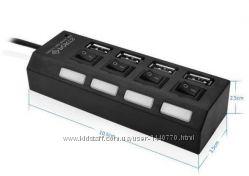 Разветвитель USB хаб на 4 порта