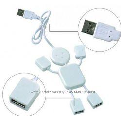 Разветвитель USB хаб Человечек на 4 порта