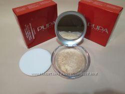 Запеченная  пудра с эффектом шелка Pupa Luminys Satin Sheen Baked Powder