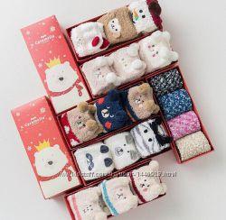 Носочки в подарочной коробке. Отличный подарок на Новый год