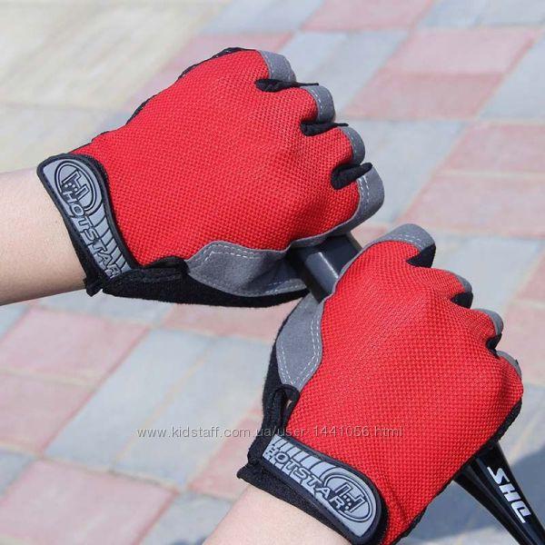 Перчатки велосипедные, велоперчатки, разные цвета и размеры