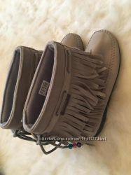 Замшевые сапоги adidas