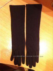 зимние высокие  перчатки