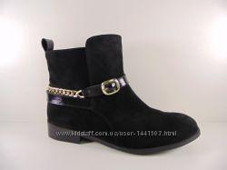 женские ботинки демисезон натуральная замша