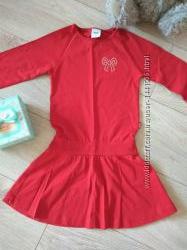 Нарядное яркое платье 98см в идеальном состоянии