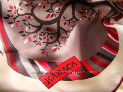 платок Karaca шелк оригинал 90Х90 см