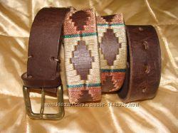 ремень Pioneros ручная работа кожа 115 см идеал