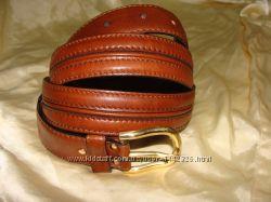 знаменитый ремень Bally оригинал Швейцария 122 см кожа