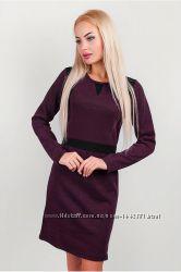 Сп Платье женское теплое выше колена