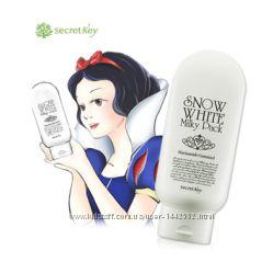 Супер-осветляющая регулярная маска Secret Key Snow White Milky Pack