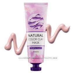 Антивозрастная маска Missha Purple Clay Firming Mask