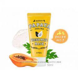 Маска-пилинг с экстрактом папайи Apieu Fresh Mate Papaya Peeling Mask