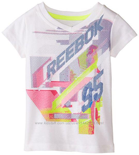 яркая футболка Reebok на девочку 4 года