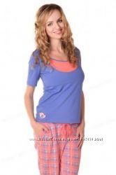 Пижама для беременных и кормящих Мамин Дом