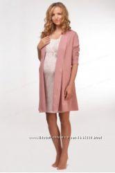 Халат - кардиган для беременных и кормящих Мамин Дом