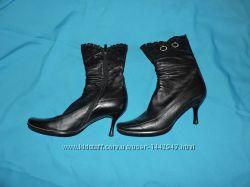 Ботинки женские кожаные осенние Fancy на шпильке р. 40