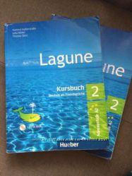 продам книги о немецкому языку Lagune 2 A2 Kursbuch  Arbeitsbuch