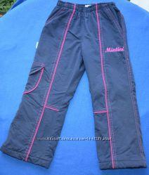 Теплые зимние штаны Mintini kids рост 104 см на 3-4 года