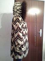 Модна норкова шуба з Італії