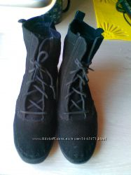 Ботинки натуральная замша Keds