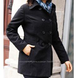 Классическое приталенное пальто серое Германия