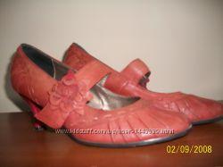 Туфли кожанные нарядные