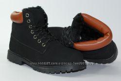 Зимние женские ботинки на меху
