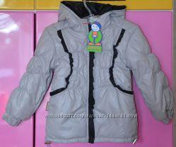 Теплая демисезонная курточка на весну осень курточка ТМ Одягайко р 98