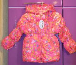 Теплая демисезонная курточка на весну осень курточка р 86 92 98