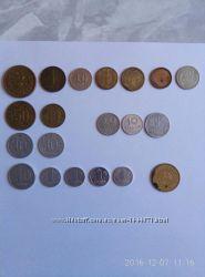 АКЦІЯ Продам старі монети різних країн