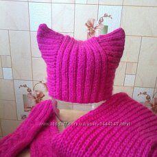 Продам комплект шапка, шарф, варежки