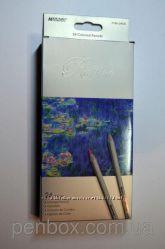 Карандаши Marco , Карандаши цветные, Карандаши подарок, Карандаши 24 цв.