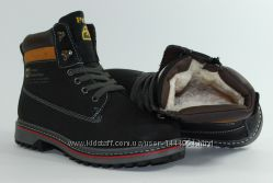 Зимние ботинки на меху, молнияшнурок