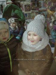 шапки вязані ручна робота
