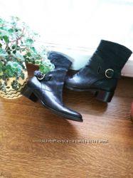 Ботинки натуральная кожа. Германия. размер 38, 5