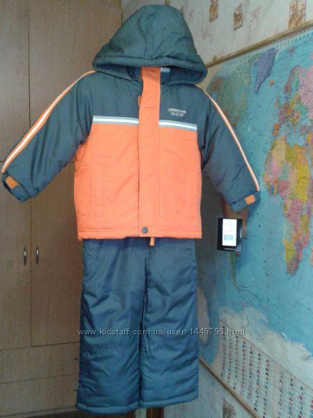 Новые зимние термо комбинезоны  London FogБангладеш S4- L7  110-128 ,