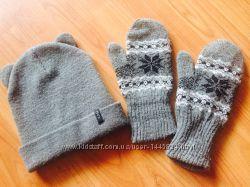 Шапка House і рукавички Kari