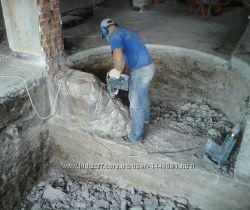 Демонтаж стен, потолков, полов, проёмов, простенков. Киев, Обухов, Украинка