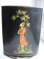 Коробка Духи Рябинушка винтаж СССР советская парфюмерия упаковка