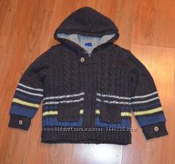 Вязаная куртка на меху Cherokee 3-5 лет