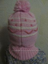 Шапка-шлем зимняя на флисе на 4-6 лет