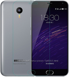 Защитное противоударное стекло на экран для Meizu M2 Note M3 Note