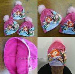 Зимняя шапка 3-д