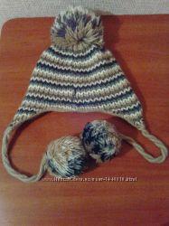 Новая женская креативная качественная шапка шерсть польша обмен нет