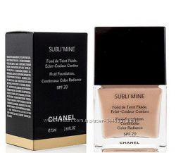 Тональный крем Chanel Sublimine Fond de Teint Fluide