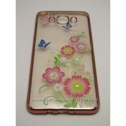 Силиконовый чехол Remax Osaka Series Apple iPhone 6 Summer Flowers, розовый