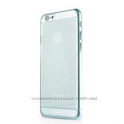 Силиконовый чехол Ультратонкая накладка 0, 3mm для Apple iPhone 6, синий